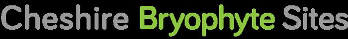 Cheshire Bryophyte Sites